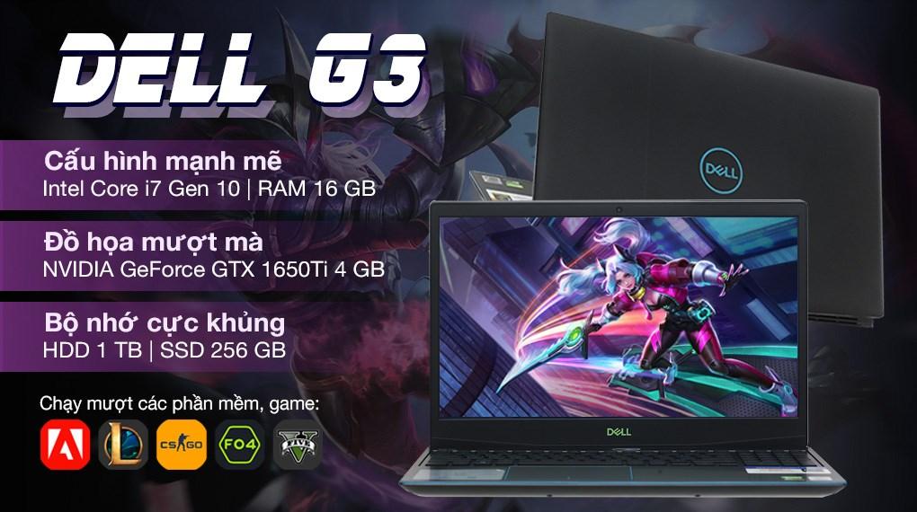 Dell Gaming G3 15 i7 10750H (P89F002G3500C)