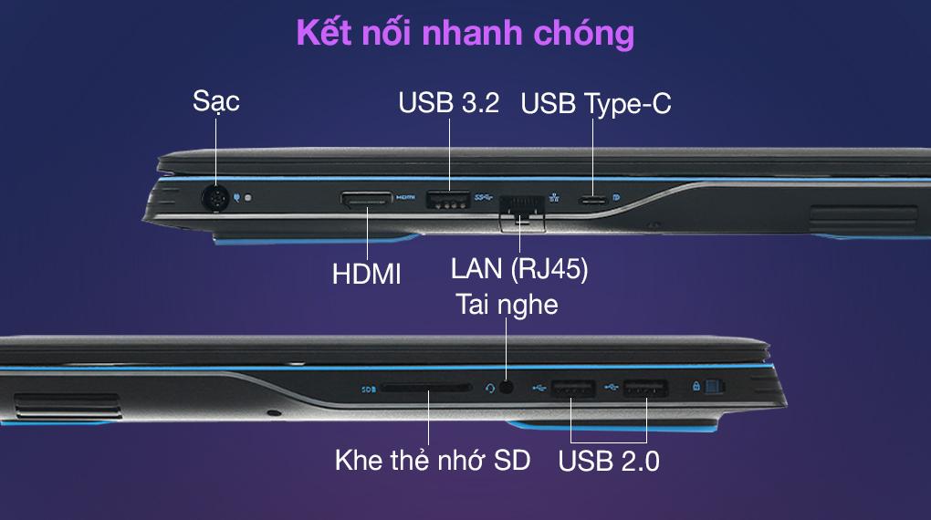 Dell G3 15 i7 10750H (P89F002G3500C) - Màn hình