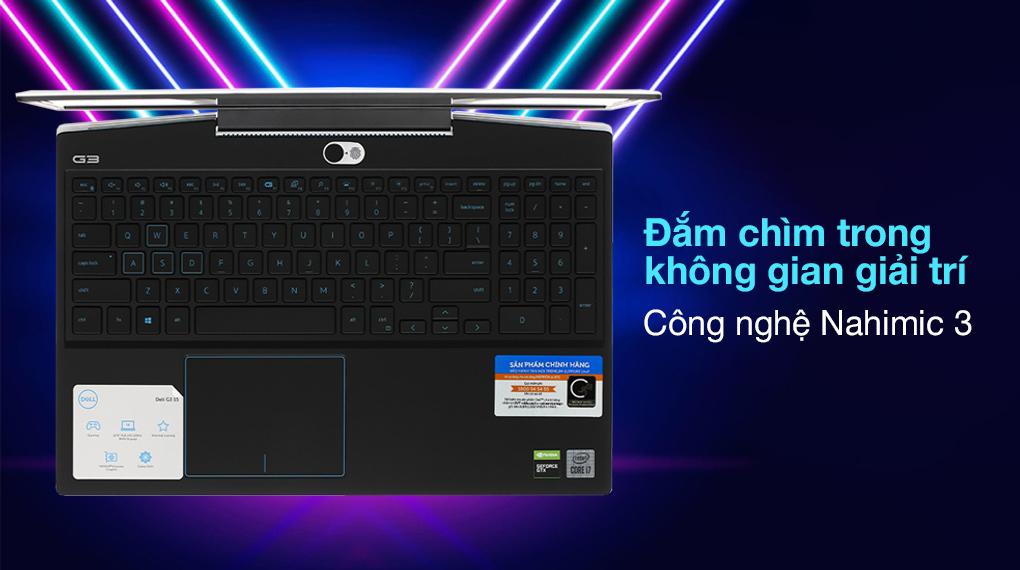 Dell G3 15 i7 10750H (P89F002BWH) - Âm thanh