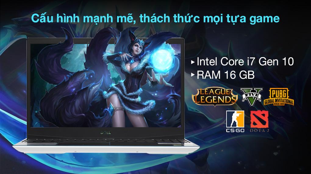 Dell G3 15 i7 10750H (P89F002BWH) - Cấu hình