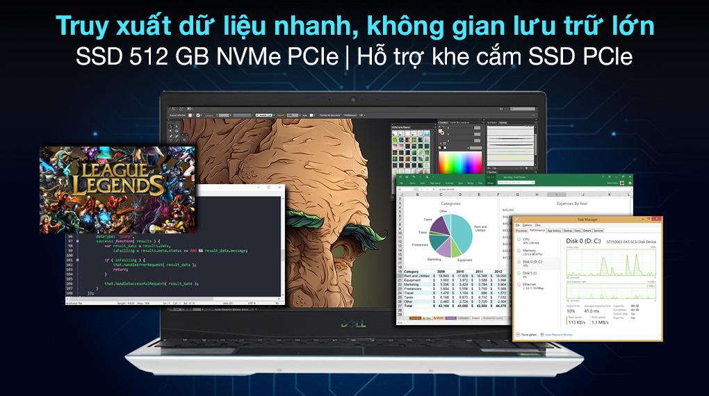 Dell G3 15 i7 10750H (P89F002BWH) - SSD