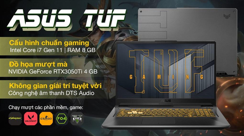 Asus TUF Gaming FX706HE i7 11800H (HX011T)
