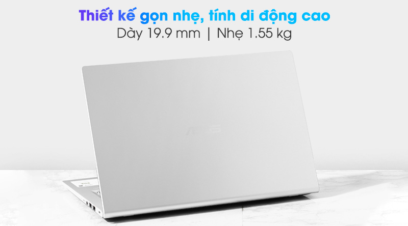 Asus VivoBook X415EA i3 1115G4 (EB263T) - Thiết kế