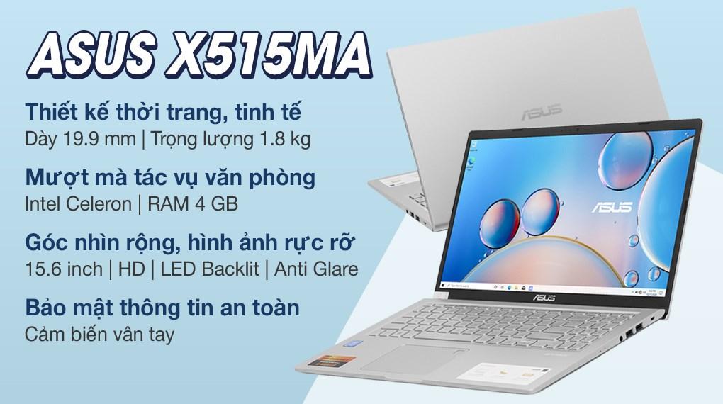 Asus VivoBook X515MA N4020 (BR480T)