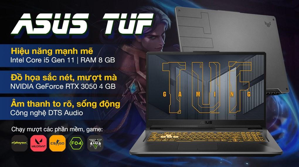 Asus TUF Gaming FX706HC i5 11400H (HX003T)