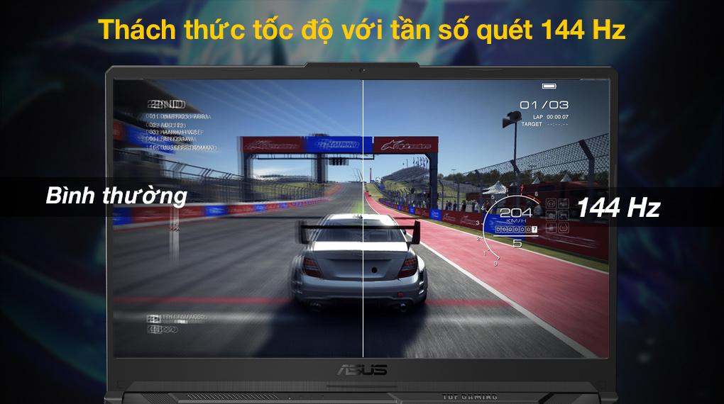 Asus TUF Gaming FX706HC i5 11400H (HX003T) - Tần số quét