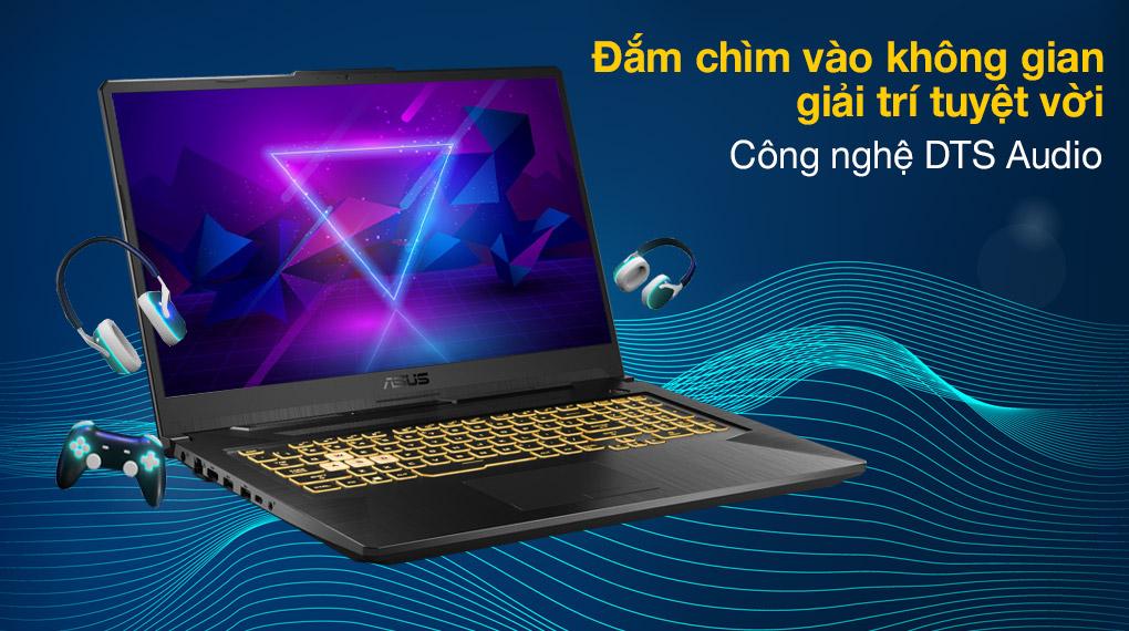 Asus TUF Gaming FX706HC i5 11400H (HX003T) - Âm thanh