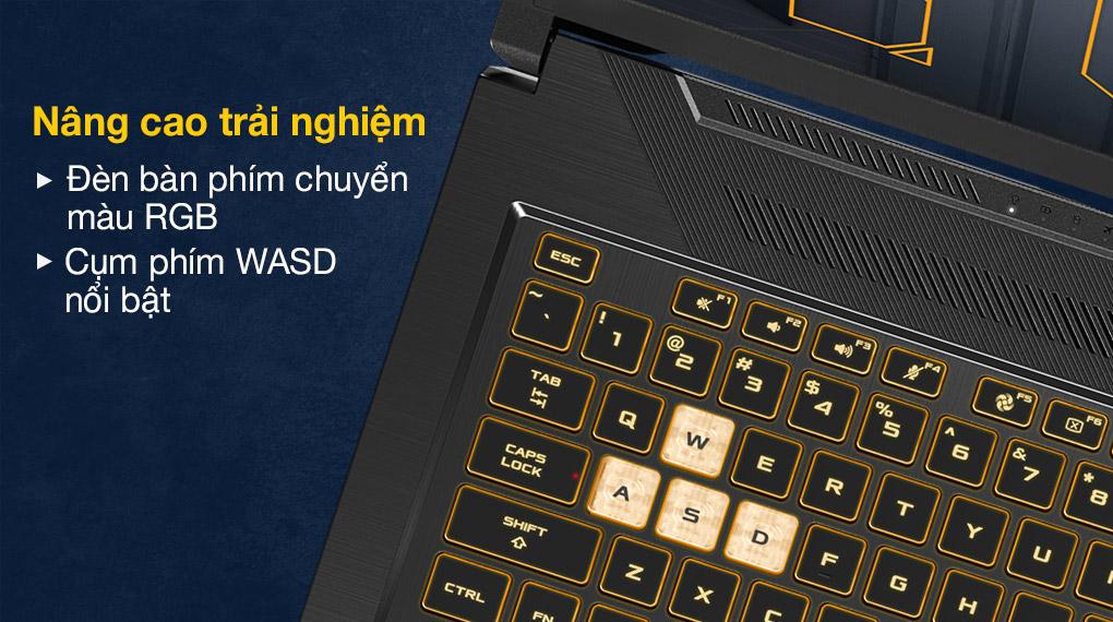 Asus TUF Gaming FX706HC i5 11400H (HX003T) - Bàn phím