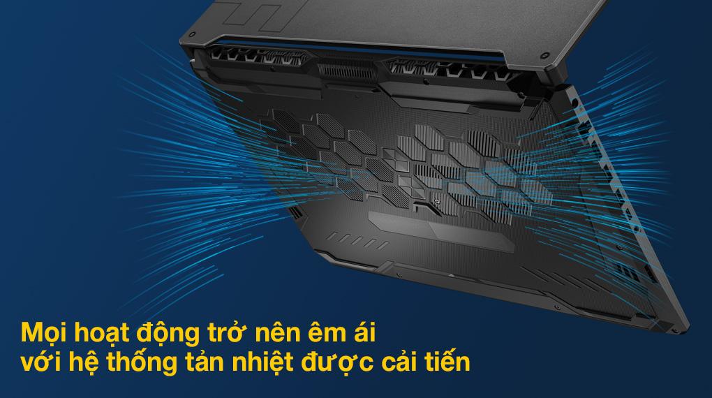Asus TUF Gaming FX706HC i5 11400H (HX003T) - Tản nhiệt