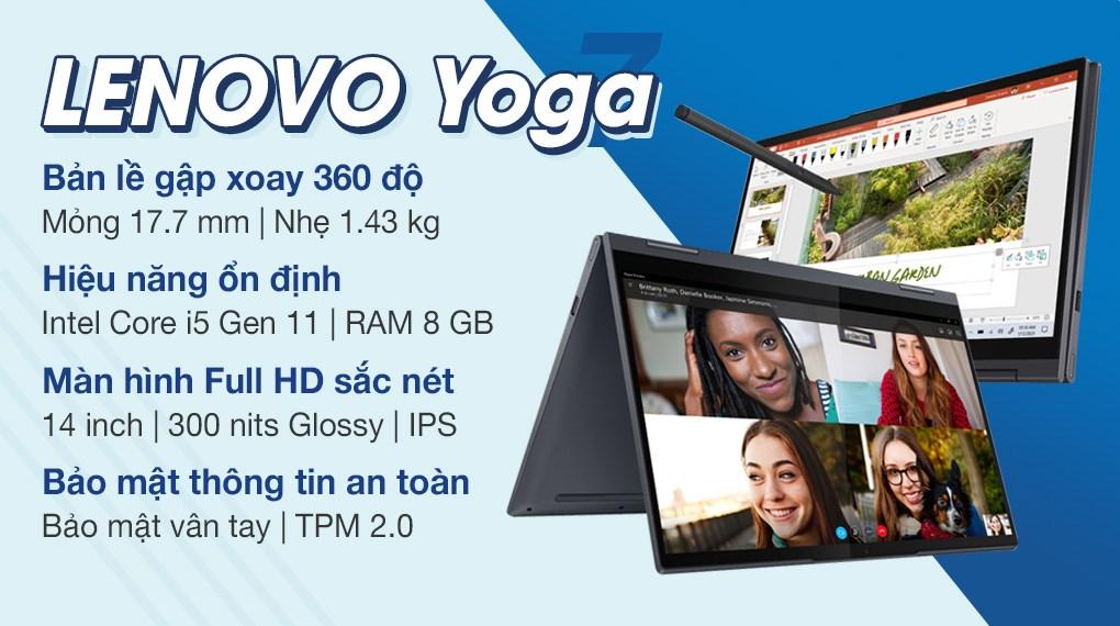 Lenovo Yoga 7 14ITL5 i5 1135G7 (82BH00CJVN)
