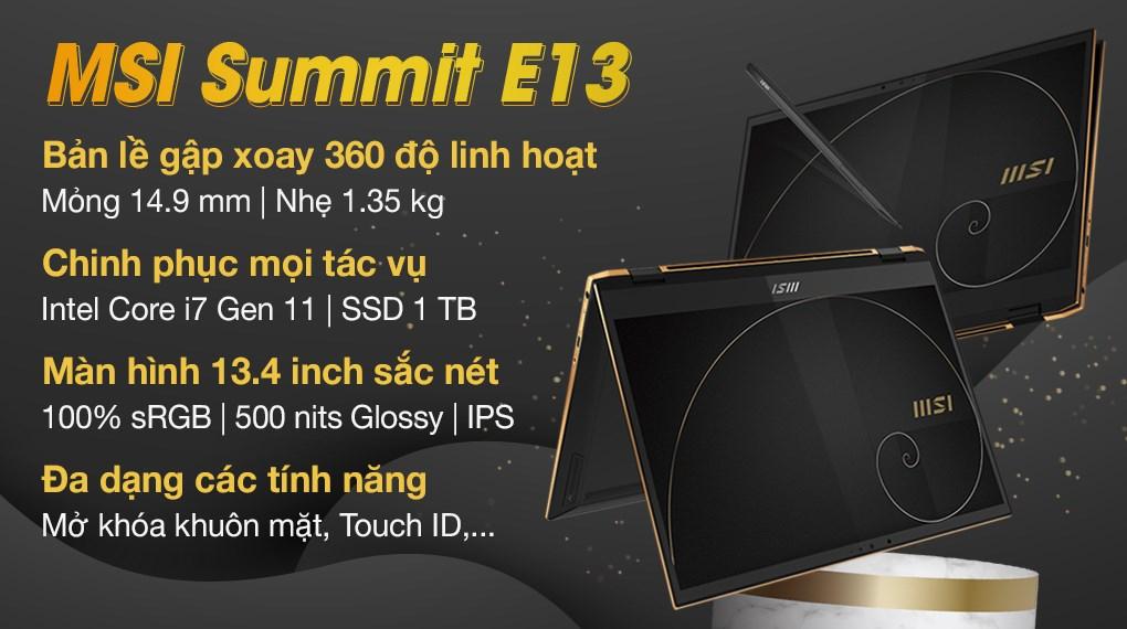 MSI Summit E13 Flip i7 1185G7 (211VN)