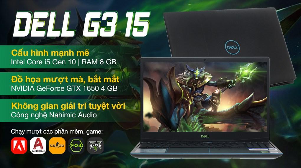 Dell Gaming G3 15 3500 i5 10300H (70253721)