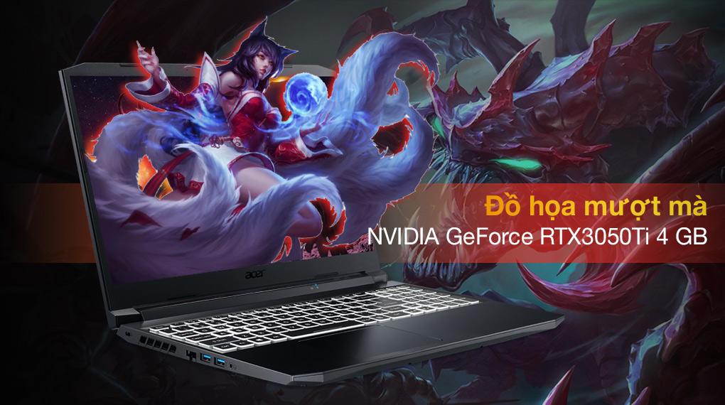 Acer Nitro 5 Gaming AN515 57 74NU i7 11800H (NH.QD9SV.001.) - Card đồ họa