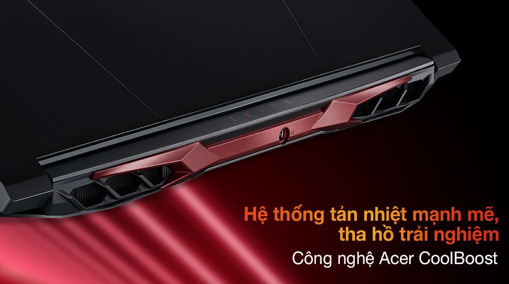 Acer Nitro 5 Gaming AN515 57 74NU i7 11800H (NH.QD9SV.001.) - Tản nhiệt