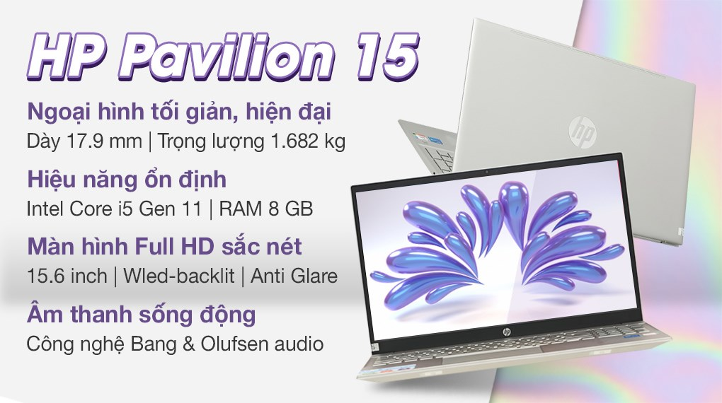 HP Pavilion 15 eg0507TU i5 1135G7 (46M06PA)