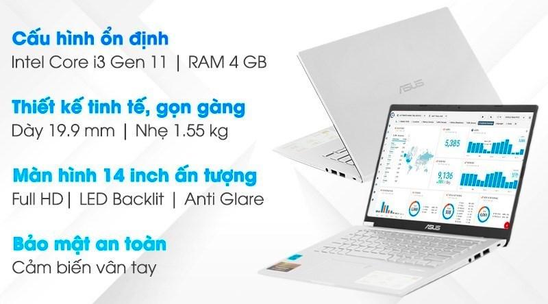 Asus VivoBook X415EA i3 1115G4 (EB638T)