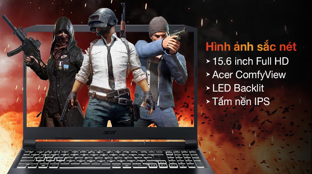 Acer Nitro 5 Gaming AN515 57 50FT i5 11400H (NH.QD8SV.003) - Hình ảnh