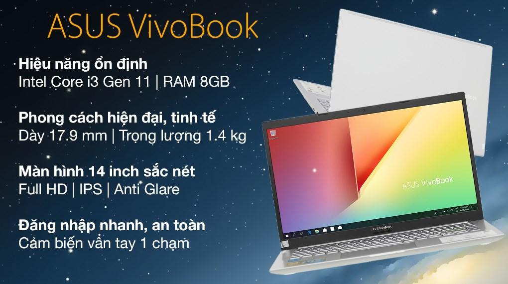 Asus VivoBook A415EA i3 1115G4 (EB559T)
