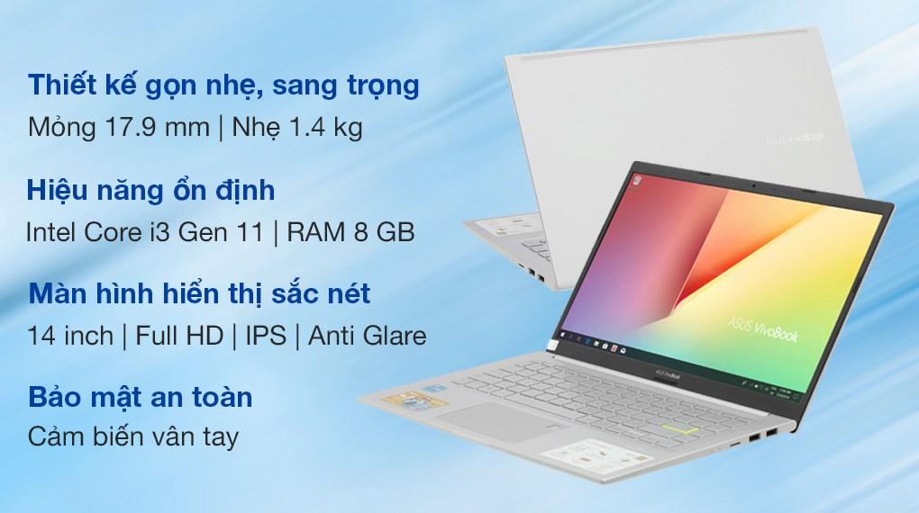Asus VivoBook A415EA i3 1115G4 (EB568T)