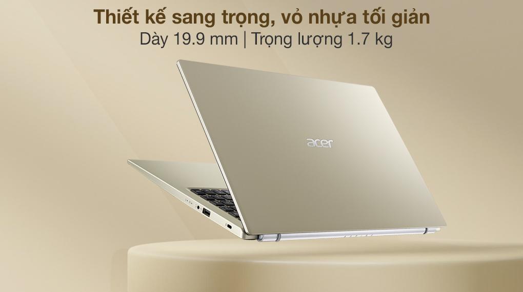 Acer Aspire 3 A315 58G 56HC i5 1135G7 (NX.AN0SV.001) - Thiết kế