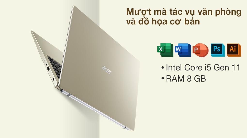 Acer Aspire 3 A315 58G 56HC i5 1135G7 (NX.AN0SV.001) - Cấu hình