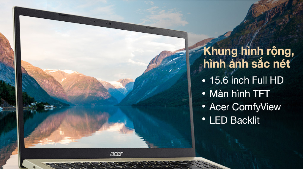 Acer Aspire 3 A315 58G 56HC i5 1135G7 (NX.AN0SV.001) - Hình ảnh