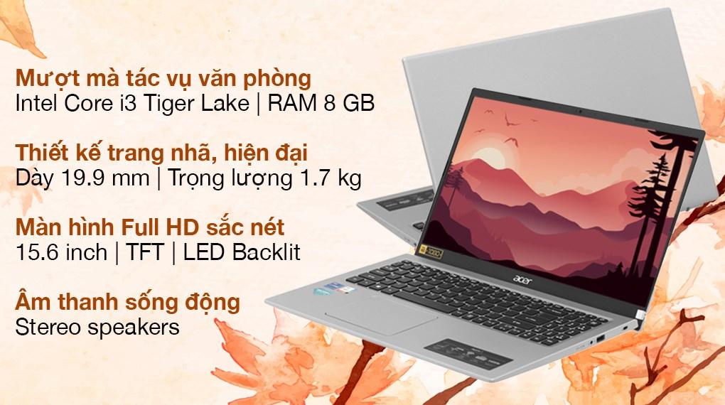 Acer Aspire 3 A315 58G 3597 i3 1115G4 (NX.ADUSV.006)