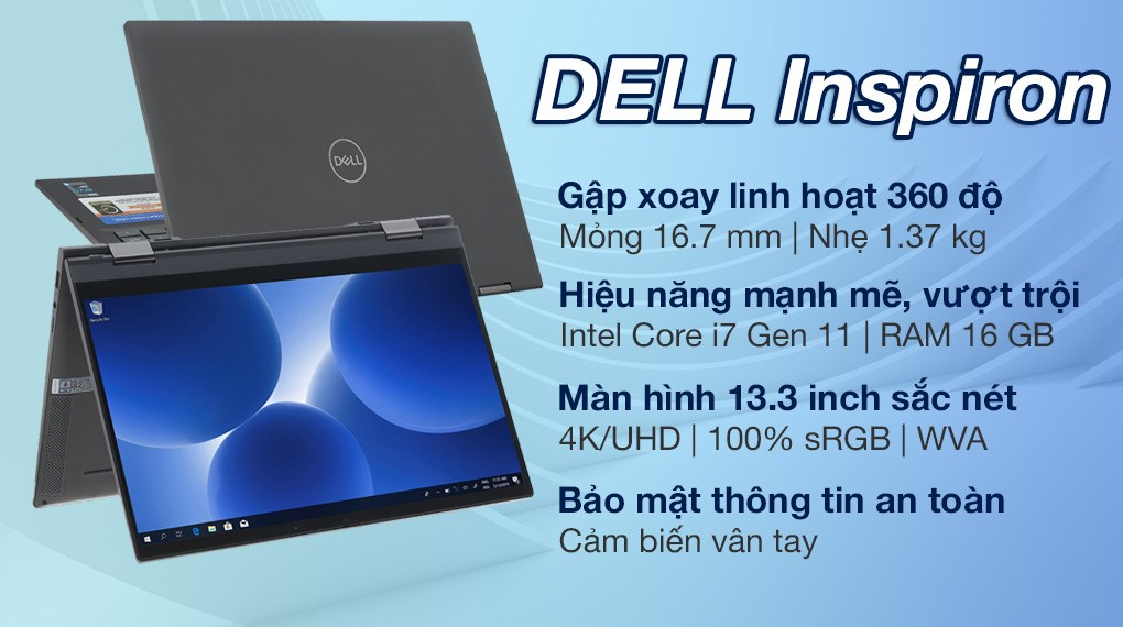 Dell Inspiron 7306A i7 1165G7 (P125G002N7306A)