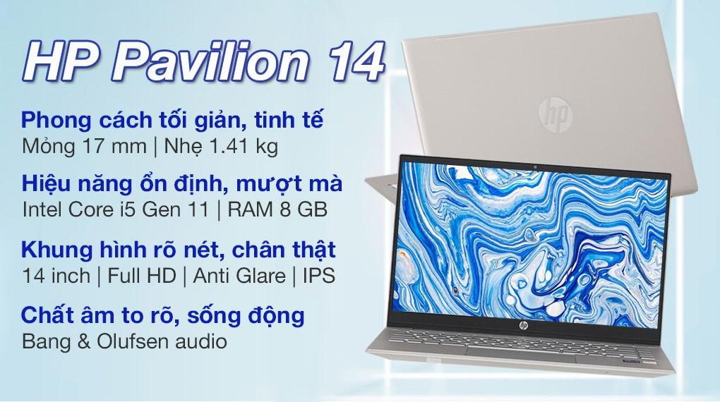 HP Pavilion 14 dv0535TU i5 1135G7 (4P5G4PA)
