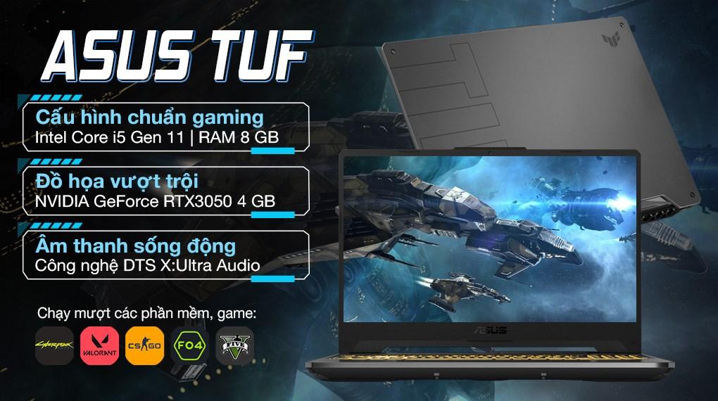 Asus TUF Gaming FX506HCB i5 11400H (HN139T)