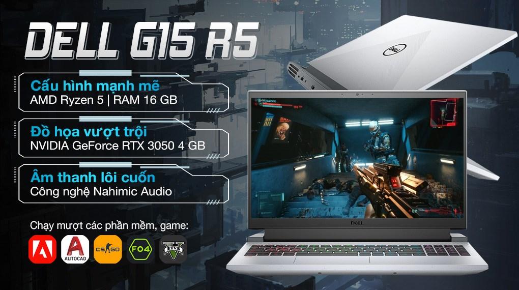 Dell Gaming G15 5515 R5 5600H (P105F004BGR)