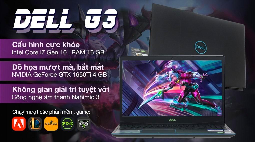 Dell Gaming G3 15 i7 10750H (P89F002DBL)