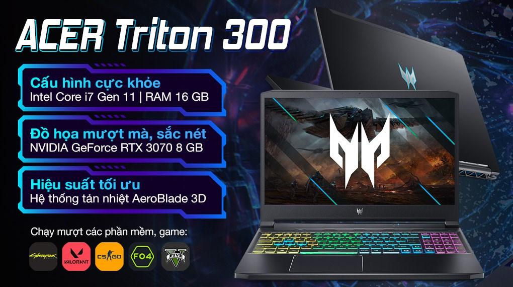 Acer Predator Triton 300 PT315 53 71DJ i7 11800H (NH.QDSSV.001)