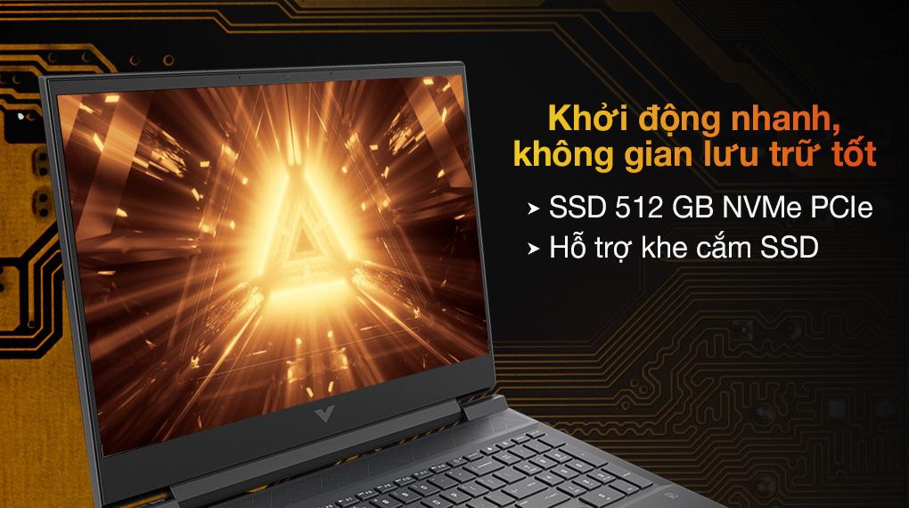 HP Gaming VICTUS 16 e0175AX R5 5600H (4R0U8PA) - SSD