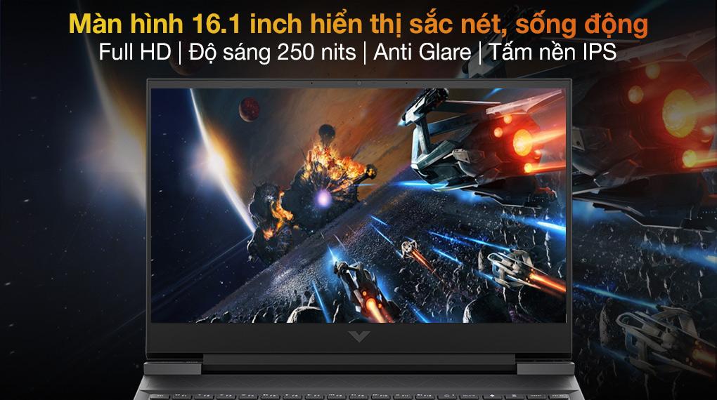 HP Gaming VICTUS 16 e0175AX R5 5600H (4R0U8PA) - Màn hình