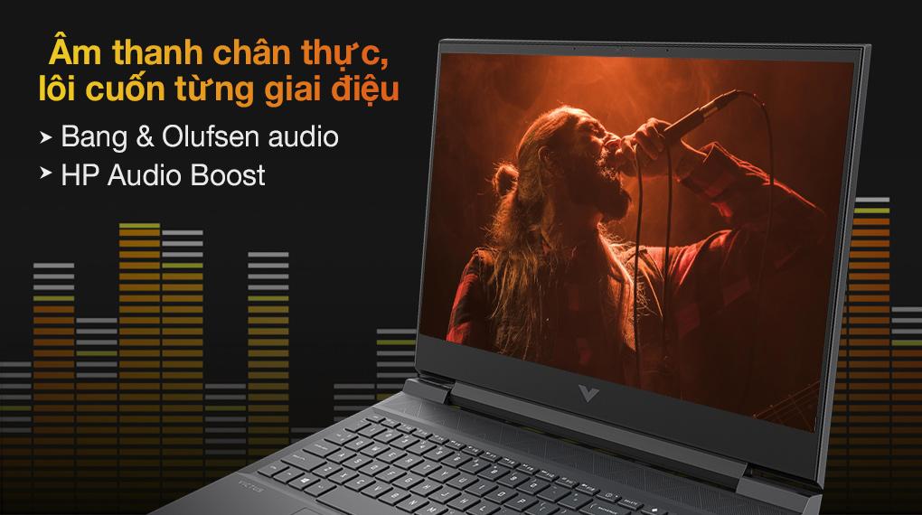 HP Gaming VICTUS 16 e0175AX R5 5600H (4R0U8PA) - Âm thanh