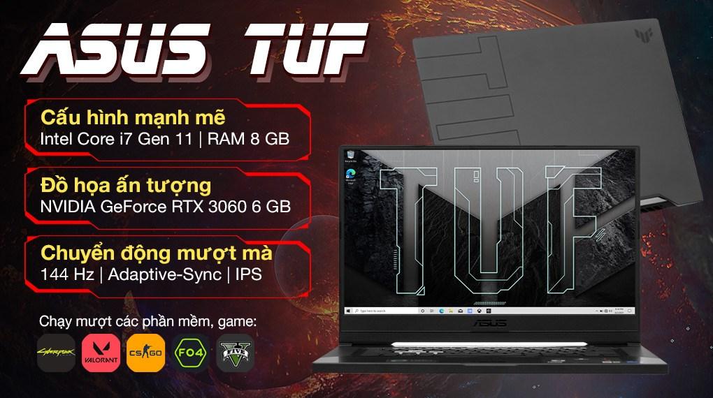 Asus TUF Gaming FX516PM i7 11370H (HN002T)