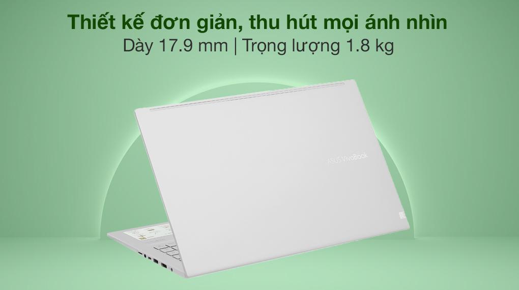 Asus VivoBook A515EA i3 1115G4 (BQ1530T) - Thiết kế