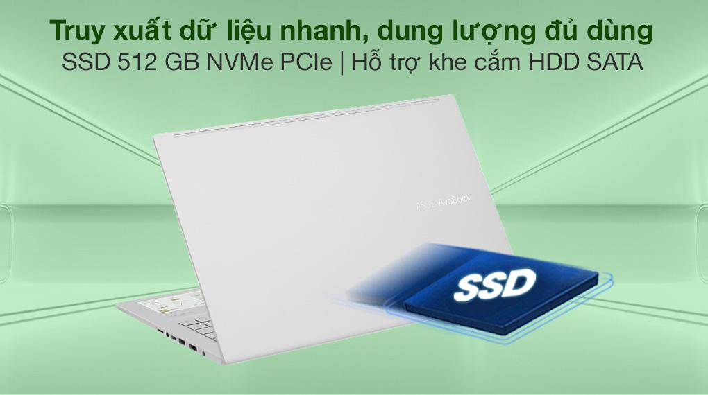 Asus VivoBook A515EA i3 1115G4 (BQ1530T) - SSD