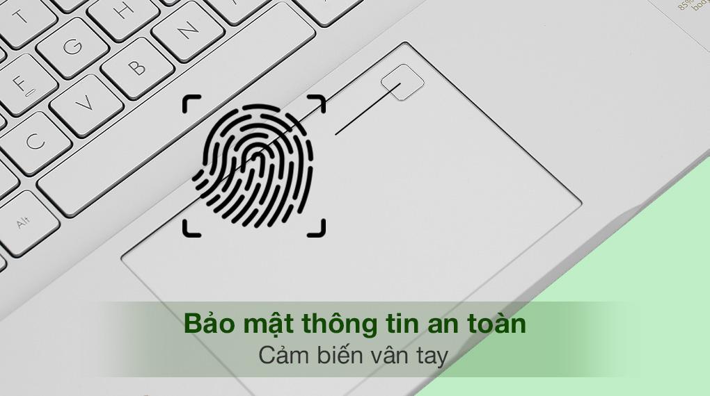 Asus VivoBook A515EA i3 1115G4 (BQ1530T) - Cảm biến vân tay