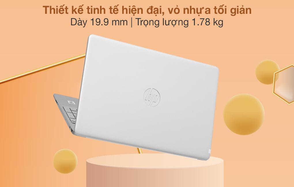 HP 15s du1105TU i3 10110U (2Z6L3PA) - Thiết kế