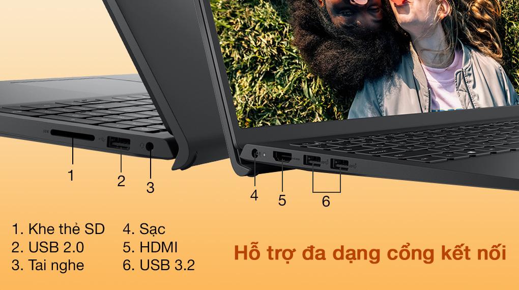 Dell Inspiron 15 3511 i3 1115G4 (P112F001ABL) - Cổng kết nối