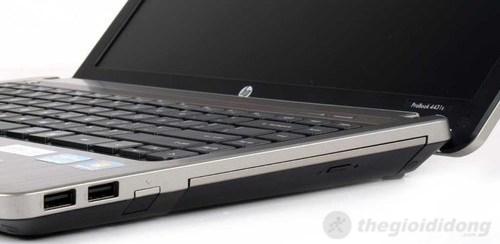Chi tiết các kết nối ở hai cạnh HP Probook 4431s