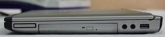 Chi tiết các kết nối nằm ở hai cạnh bên Dell Vostro 3550