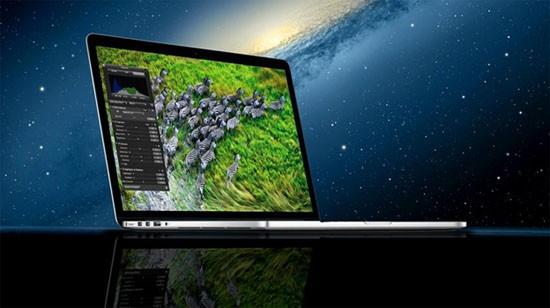 MacBook Pro 15 inch Retina, màn hình khủng, hiệu năng cao