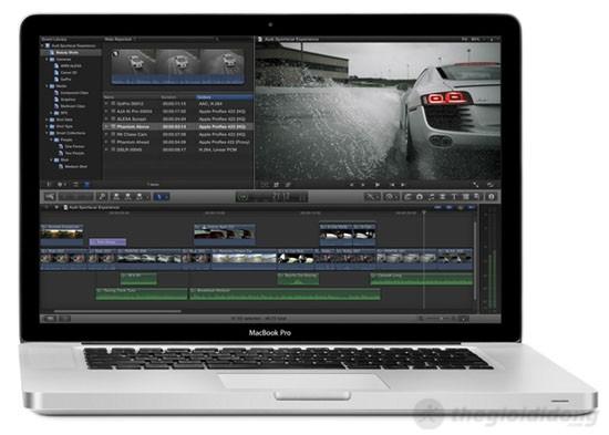 MacBook Pro MC975 cho kết quả xử lý đồ họa mạnh mẽ