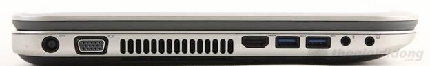 Cổng USB 3.0 và HDMI