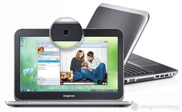 Màn hình nằm dưới Webcam chuẩn HD