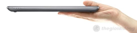 Kích thước Samsung series 5 530U4C rất nhỏ gọn