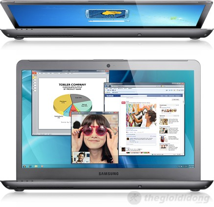 Công nghệ tăng tốc của Samsung trên Samsung series 5 530U4C